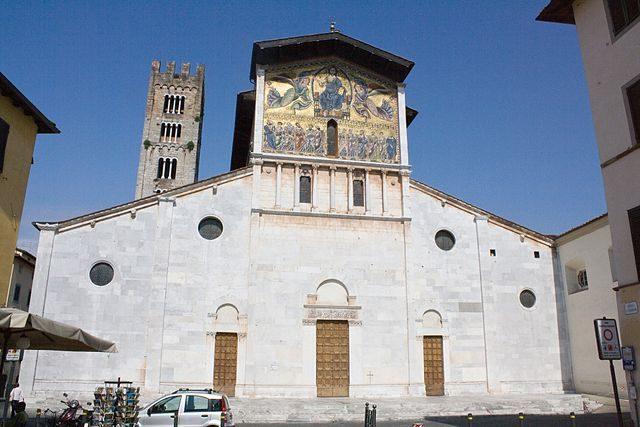 Lucca, Basilica di San Frediano – Foto Wikimedia Commons