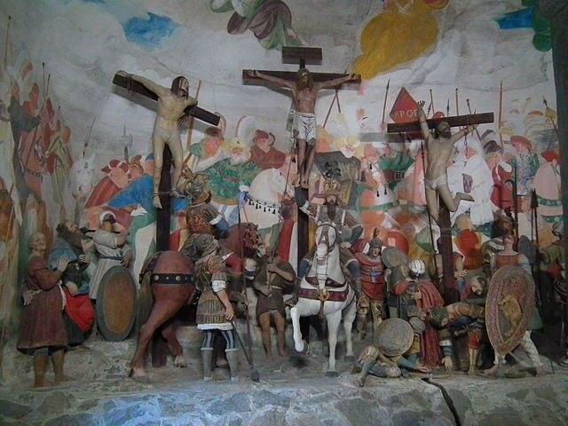 Cappella della Crocifissione – Foto Wikimedia Commons