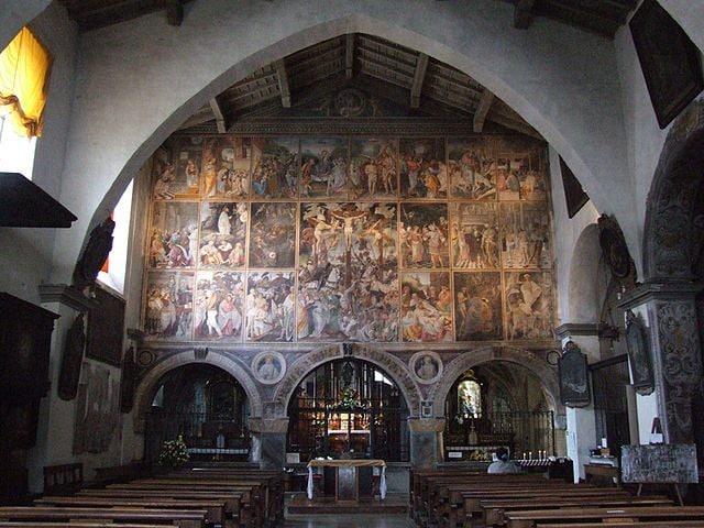 Santa Maria delle Grazie, Varallo – Foto Wikipedia