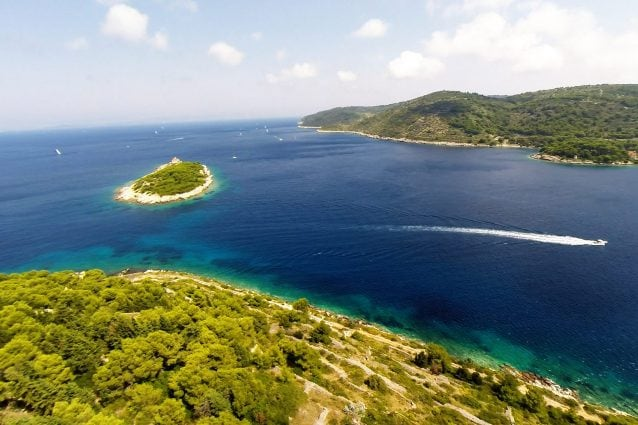 Isola di Vis in Croazia