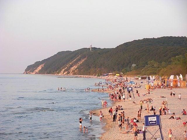 Spiaggia di Międzyzdroje – Foto Wikimedia Commons
