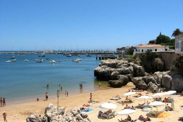Spiaggia di Cascais, Portogallo