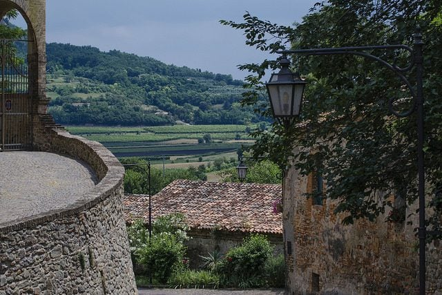 Vista da Arquà Petrarca