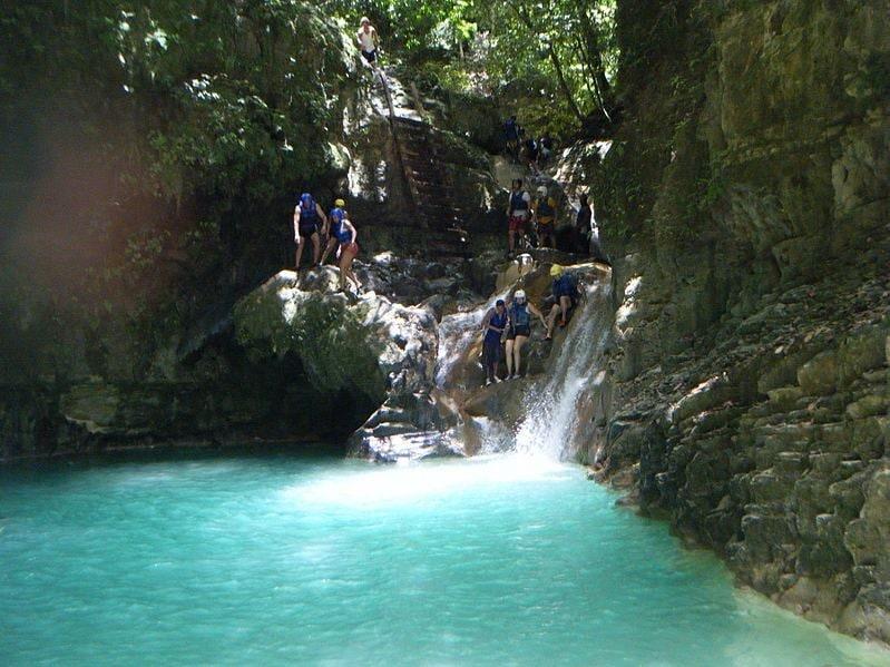 Cascate di Damajagua