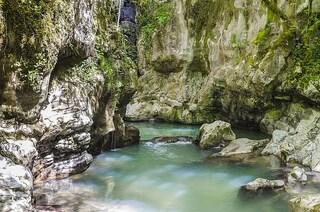 Un tuffo nella natura a Morigerati nell'Oasi delle Grotte del Bussento