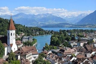 Thun: la città svizzera sul lago con un castello da fiaba