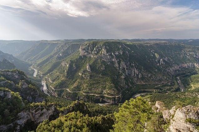 Parco Nazionale delle Cevennes, Gole del Tarn – Foto Wikimedia Commons
