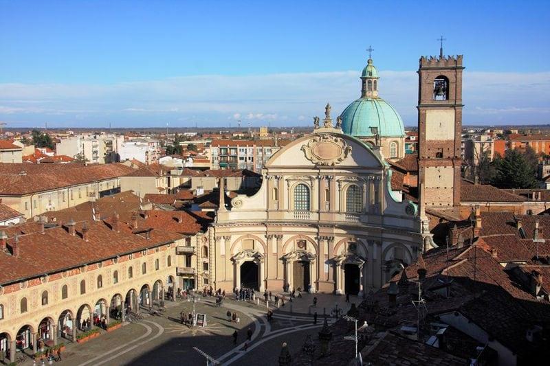 Duomo di Vigevano e Torre del Bramante