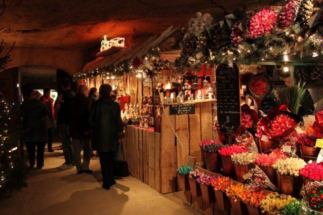 Fluweelengrot Kerstmarkt Valkenburg