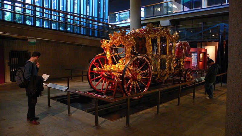 Carrozza di Lord Mayors esposta nel Museum of London.