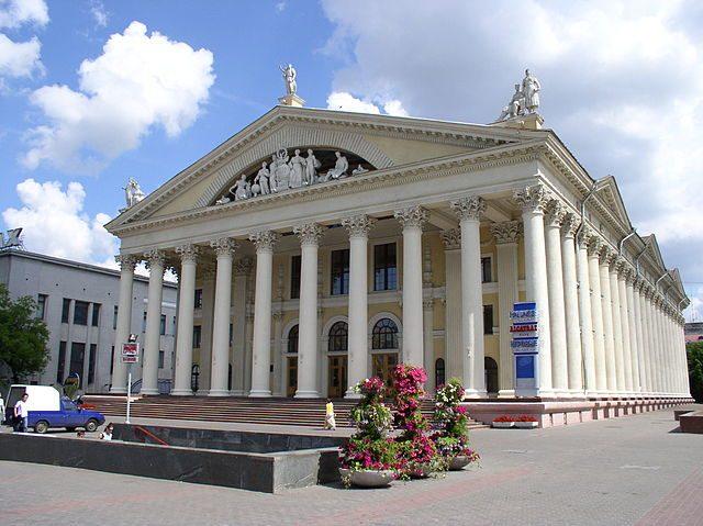 Minsk, Palazzo della Repubblica – Foto Wikimedia Commons