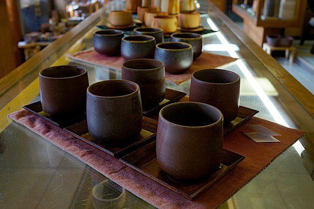 Ceramiche Bizen–yaki a Imbe – Foto Wikimedia Commons