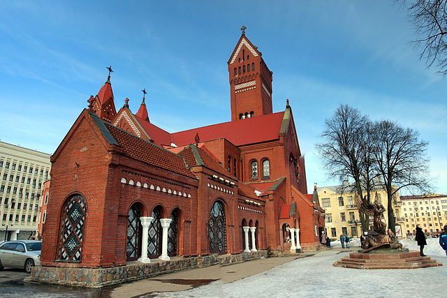 "Chiesa dei Santi Simone ed Elena o ""Chiesa Rossa"" – Foto Wikimedia Commons"