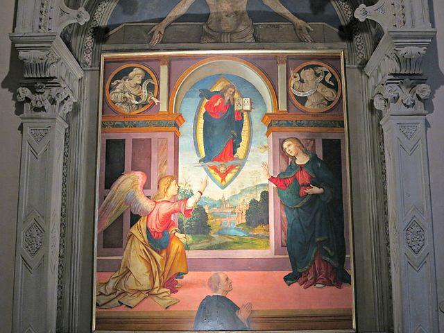 Annunciazione di Raffaellino del Garbo – Foto Wikimedia Commons