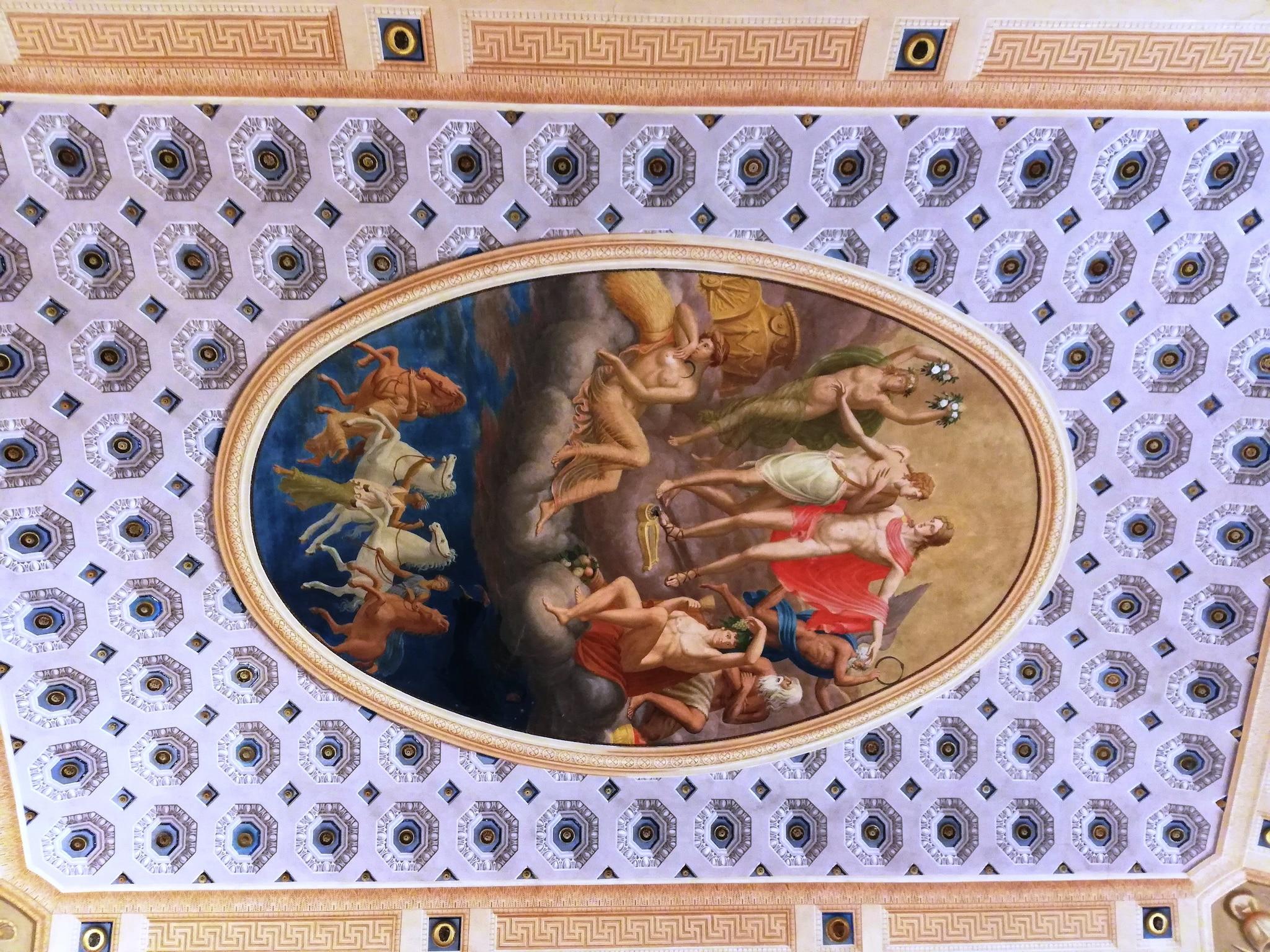 Soffitto della Sala di Apollo