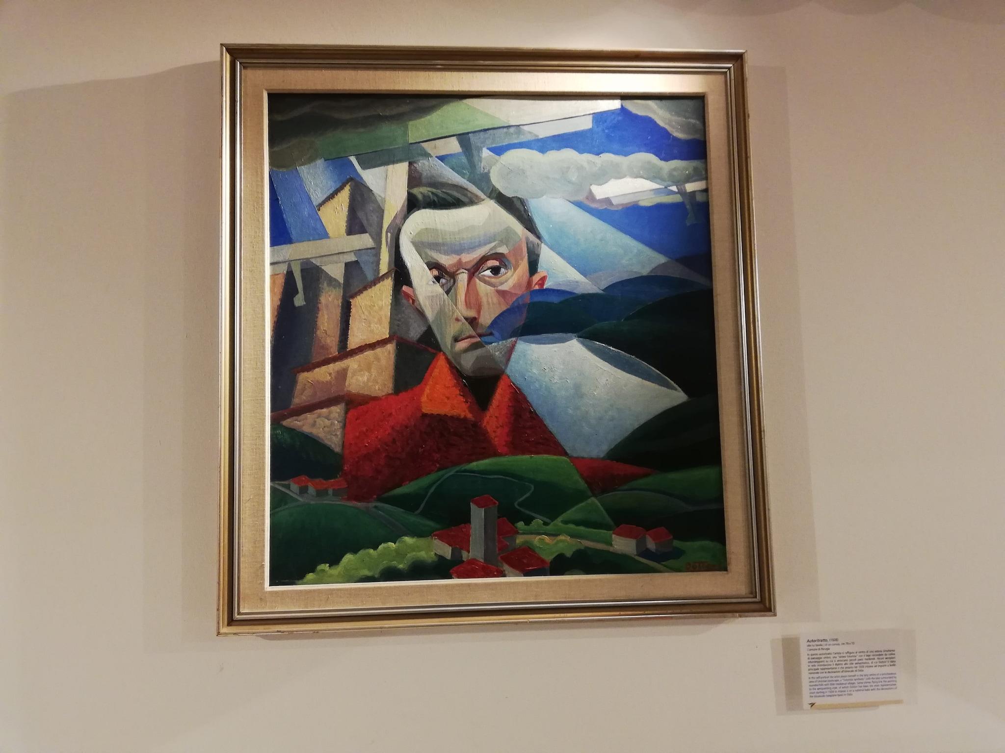 Gerardo Dottori, Autoritratto