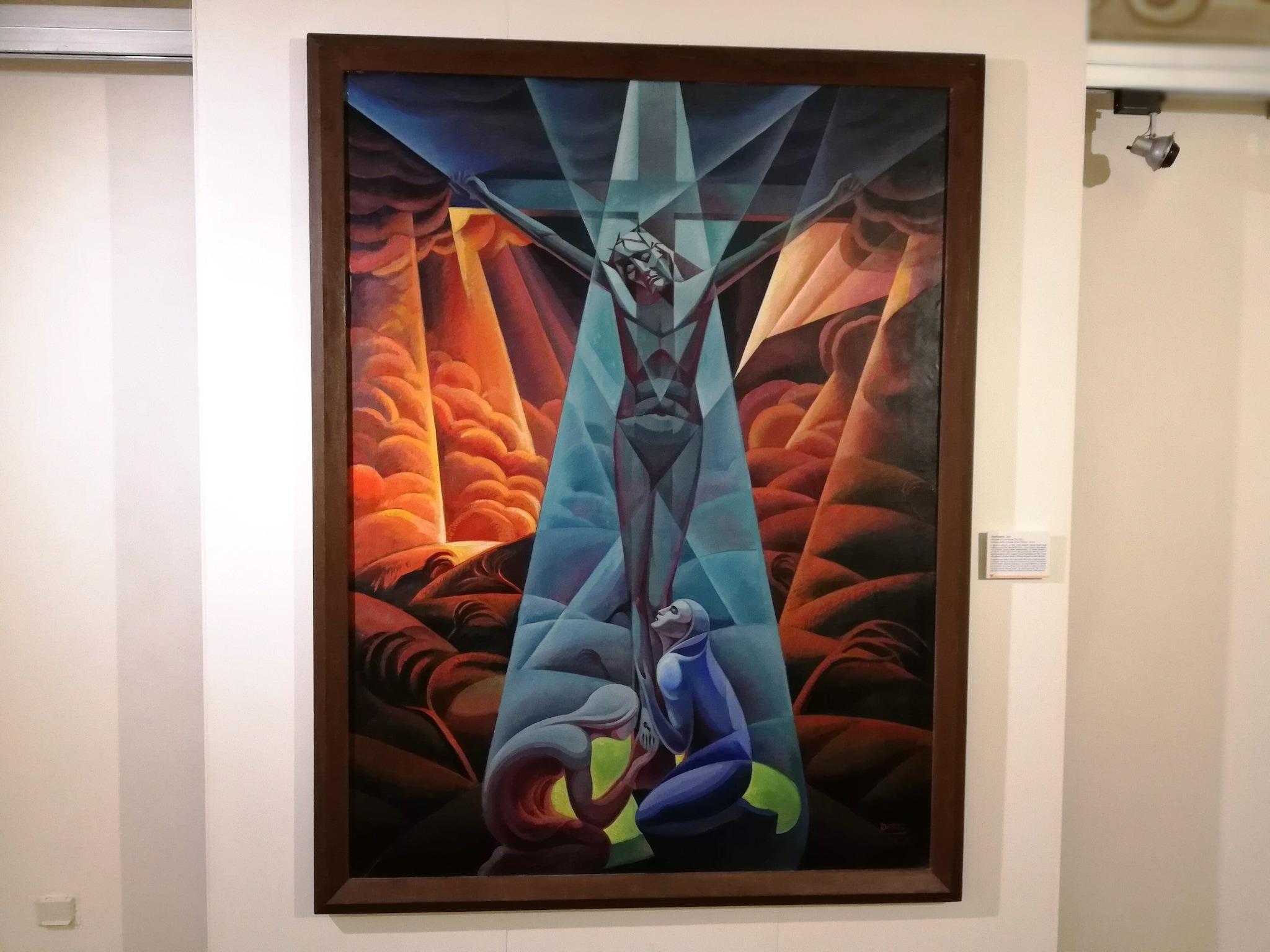 Gerardo Dottori, Crocifissione