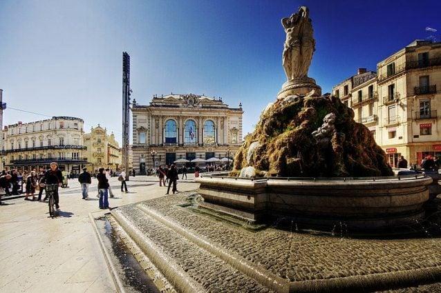 Montpellier, place del la Comédie