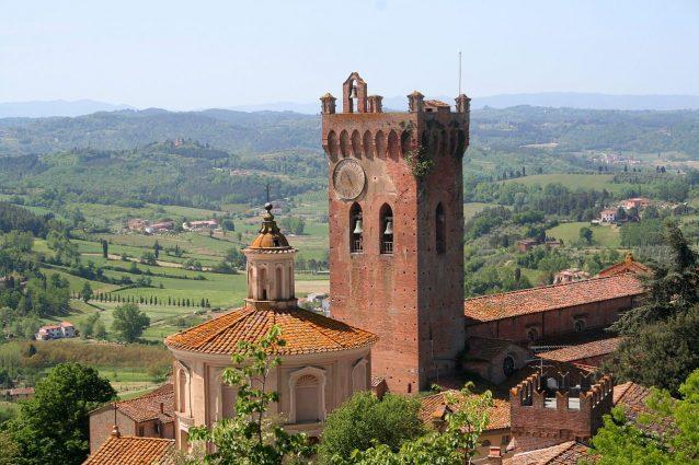 Torre di Matilde e Cupola di Chiesa del Santissimo Crocifisso, San Miniato