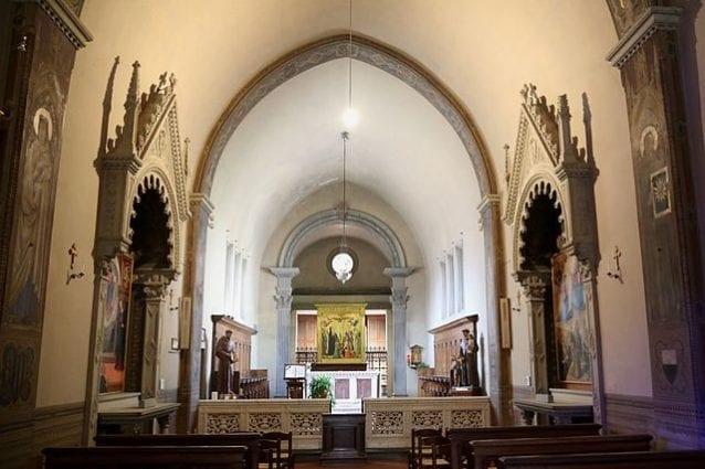Interno della Chiesa di S. Francesco – Foto Wikipedia