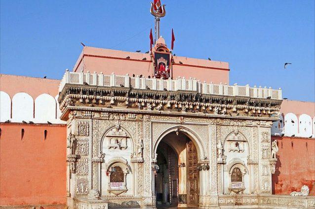 Entrata del tempio di Karni Mata