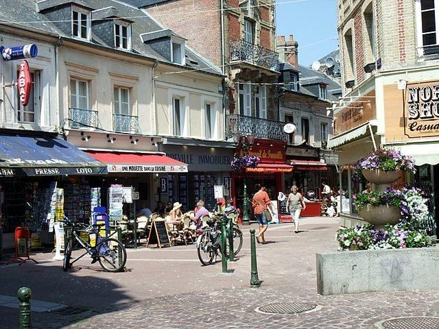 Centro storico di Trouville – Foto Wikimedia Commons