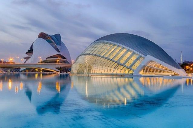 città delle scienze Valencia.