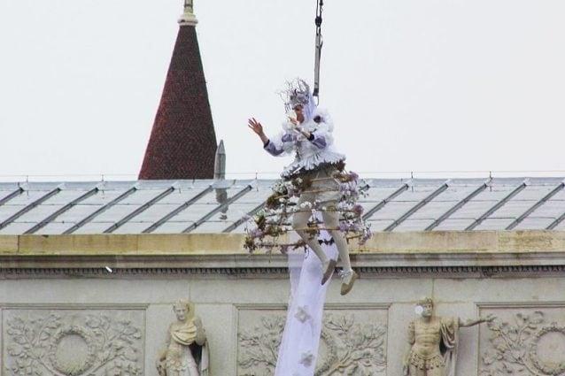 Volo dell'angelo, Carnevale di Venezia 2015