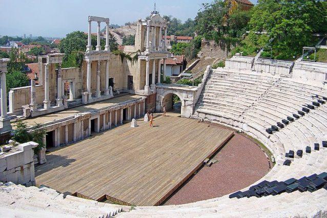 Antico teatro di Plovdiv