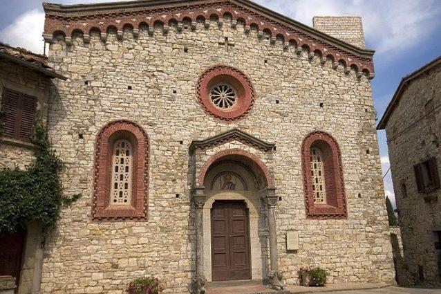 Chiesa di San Bartolomeo, Vertine