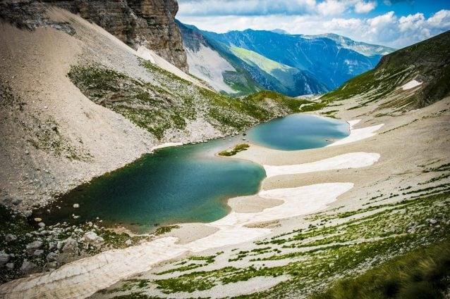 Lago di Pilato sui Monti Sibillini.