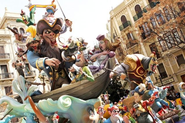 Las Fallas di Valencia