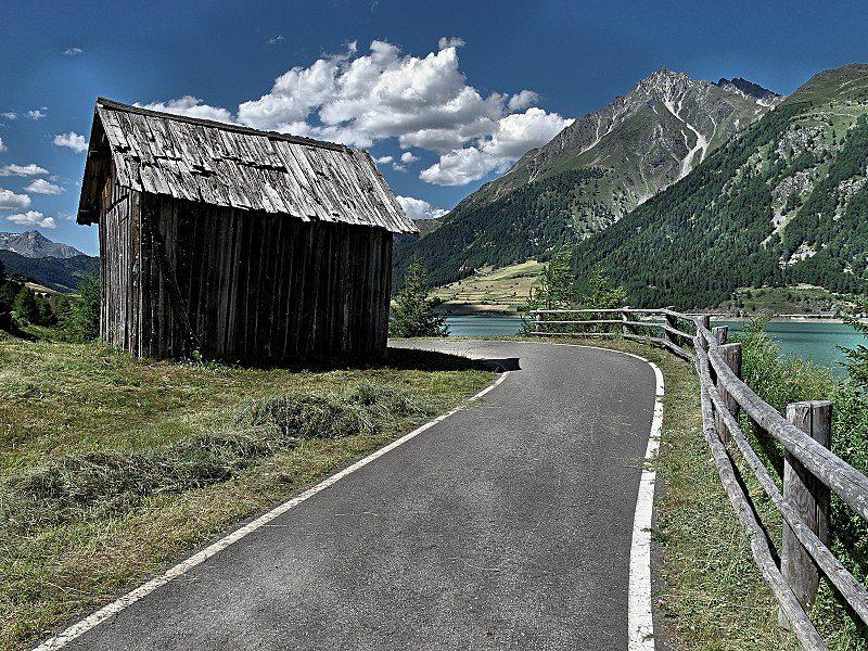 Pista ciclabile del Passo Resia