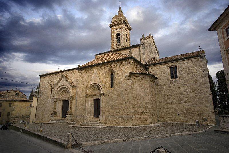 Chiesa collegiata di San Quirico d'Orcia