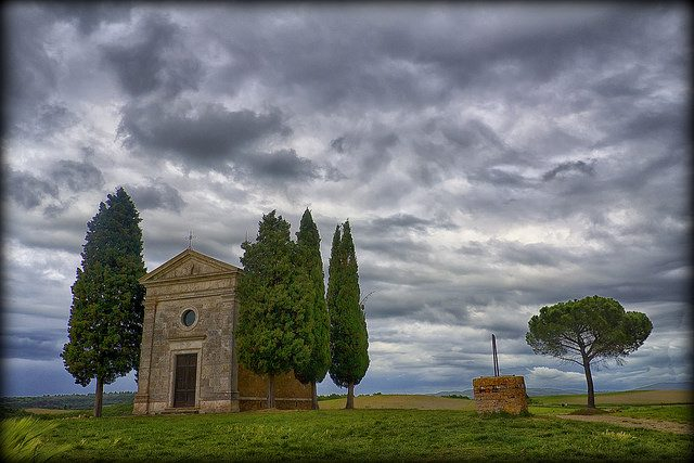 Madonna di Vitaleta - San Quirico d'Orcia