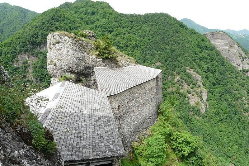 Vista dal torrione del Castello della Pietra