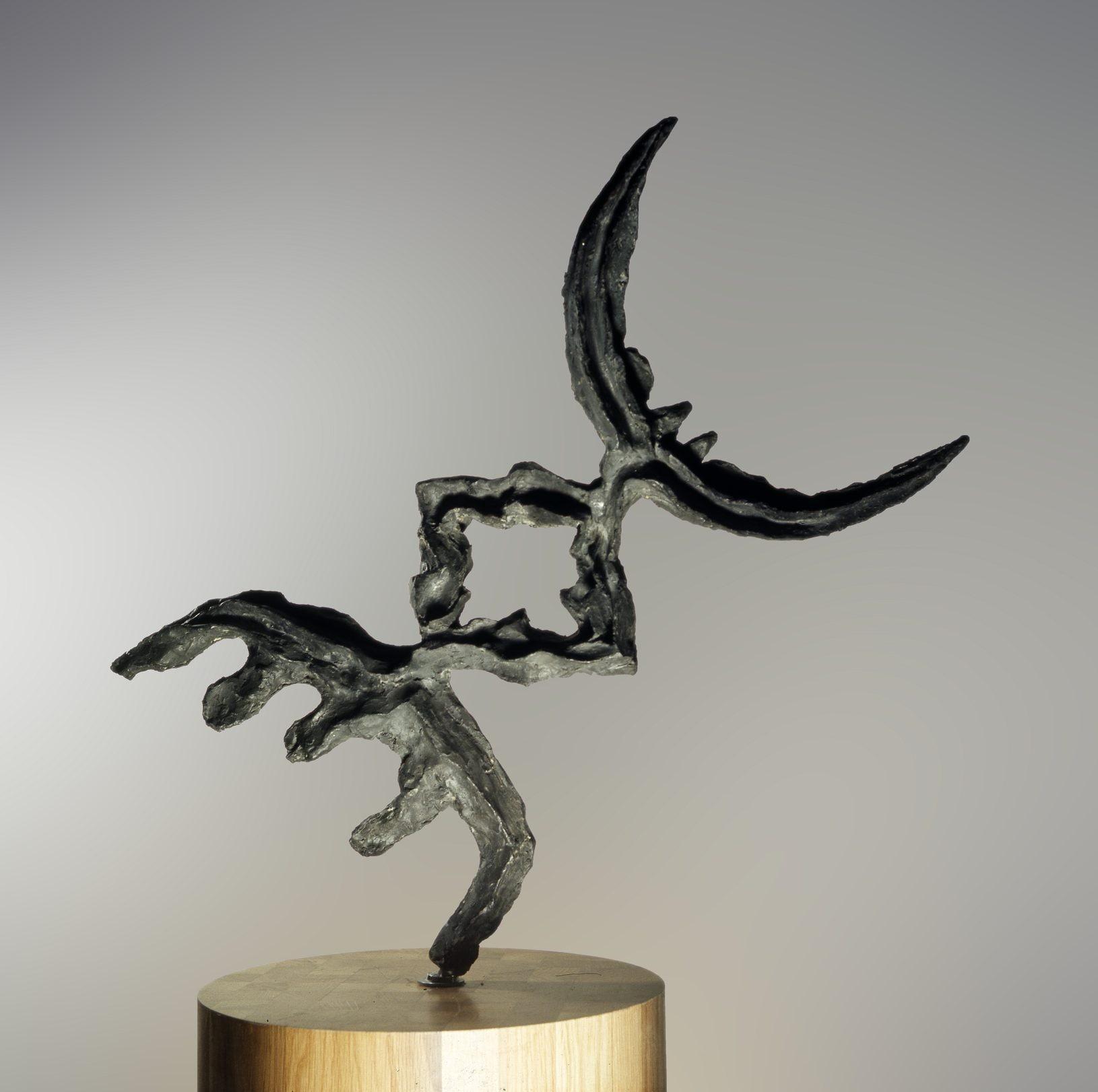 Marcello Guasti, Scultura n. 4–61, bronzo, 1961