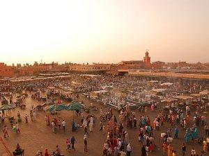 Marrakech, Jemaa-el-Fna market