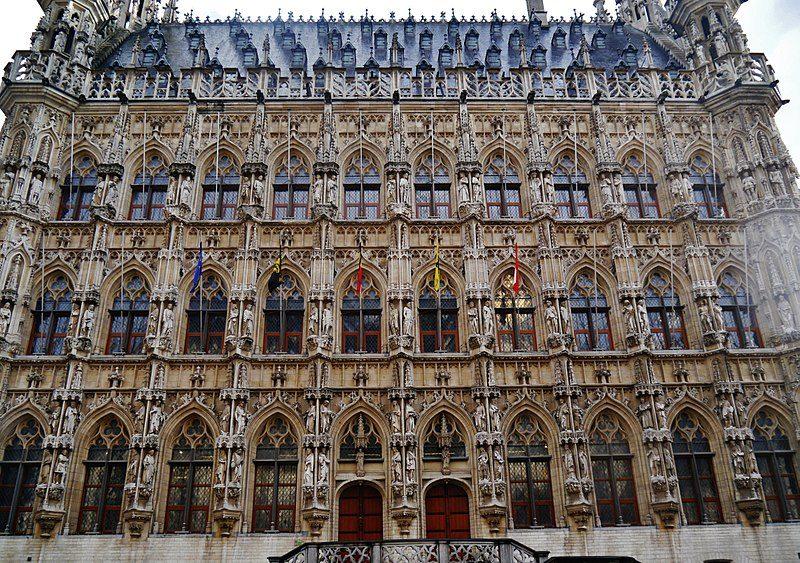 Stadhuis, il palazzo comunale di Leuven