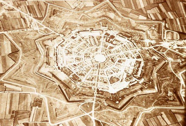 La struttura della fortezza di Palmanova