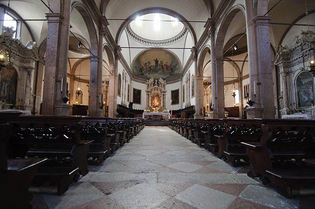 Duomo di Belluno, interno – Foto Wikipedia