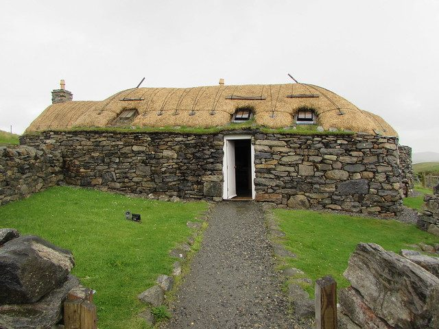 Lewis e Harris - Gearrannan Blackhouse Village