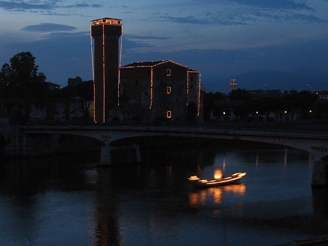 Luminara di San Ranieri – Foto Wikimedia Commons