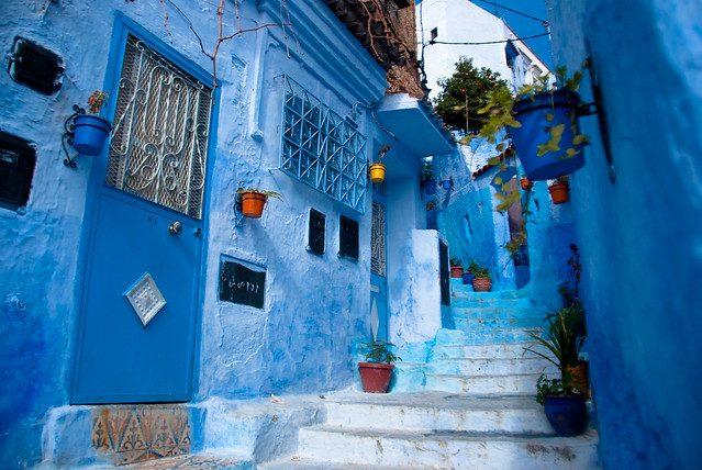 Chefchaouen, la città blu del Morocco