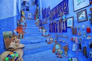 Una città tutta blu in Marocco: Chefchaouen