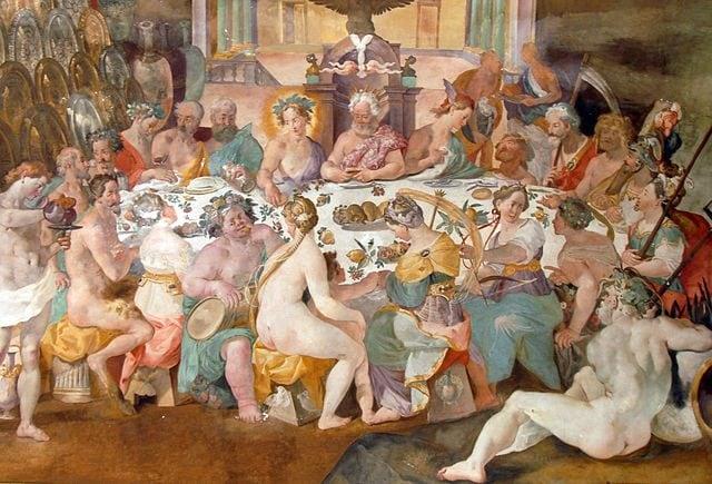 Convivio degli Dei – Foto Wikipedia
