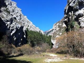 Gole di Celano: un suggestivo canyon in Abruzzo