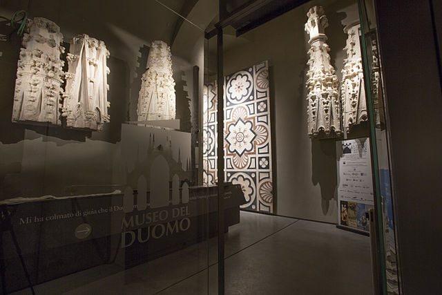 Ingresso del Museo del Duomo di Milano – Foto Wikipedia