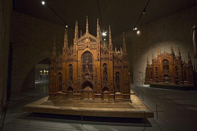 Modello ligneo del Duomo – Foto Wikipedia