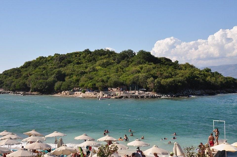 Spiaggia Ksamili